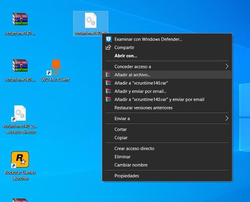 poner contraseña archivo windows 10 0
