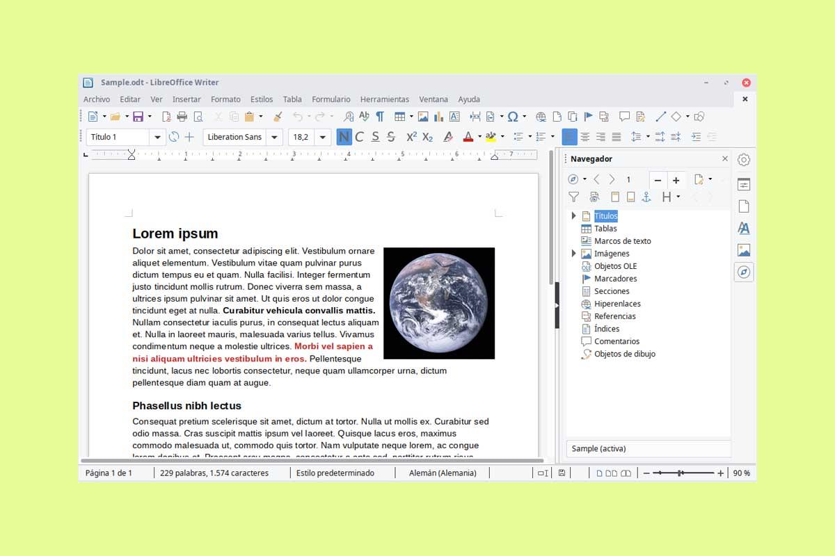 100 atajos de teclado de Writer para usar en LibreOffice